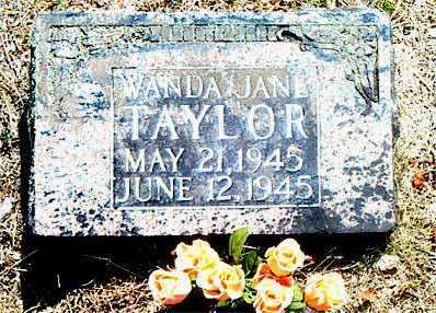TAYLOR, WANDA JANE - Boone County, Arkansas | WANDA JANE TAYLOR - Arkansas Gravestone Photos