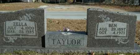 TAYLOR, ZELLA - Boone County, Arkansas | ZELLA TAYLOR - Arkansas Gravestone Photos