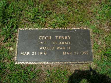 TERRY  (VETERAN WWII), CECIL - Boone County, Arkansas | CECIL TERRY  (VETERAN WWII) - Arkansas Gravestone Photos