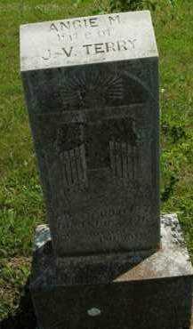 TERRY, ANGIE M. - Boone County, Arkansas   ANGIE M. TERRY - Arkansas Gravestone Photos