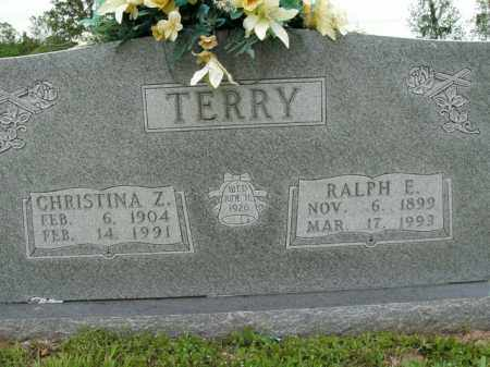 ESSEX TERRY, CHRISTINA Z. - Boone County, Arkansas | CHRISTINA Z. ESSEX TERRY - Arkansas Gravestone Photos