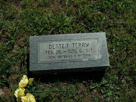 TERRY, DENTEN - Boone County, Arkansas | DENTEN TERRY - Arkansas Gravestone Photos