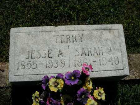 TERRY, JESSE A. - Boone County, Arkansas   JESSE A. TERRY - Arkansas Gravestone Photos