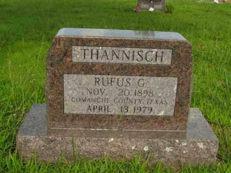 THANNISCH, RUFUS G. - Boone County, Arkansas | RUFUS G. THANNISCH - Arkansas Gravestone Photos