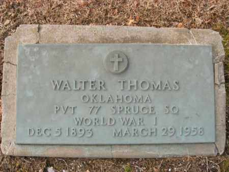 THOMAS  (VETERAN WWI), WALTER - Boone County, Arkansas | WALTER THOMAS  (VETERAN WWI) - Arkansas Gravestone Photos