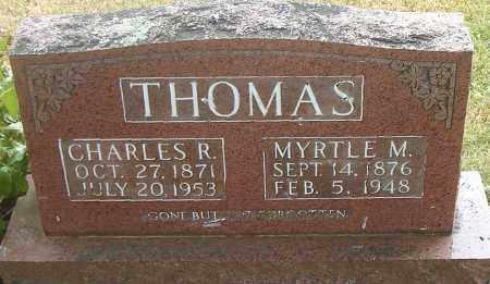 THOMAS, MYRTLE  M. - Boone County, Arkansas | MYRTLE  M. THOMAS - Arkansas Gravestone Photos