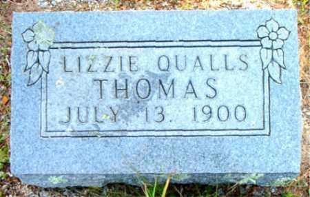QUALLS THOMAS, LIZZIE - Boone County, Arkansas | LIZZIE QUALLS THOMAS - Arkansas Gravestone Photos