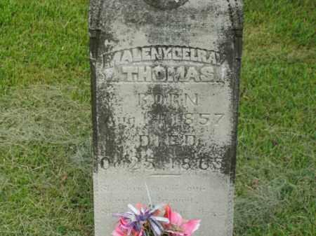 THOMAS, MALENY DELRAY - Boone County, Arkansas | MALENY DELRAY THOMAS - Arkansas Gravestone Photos