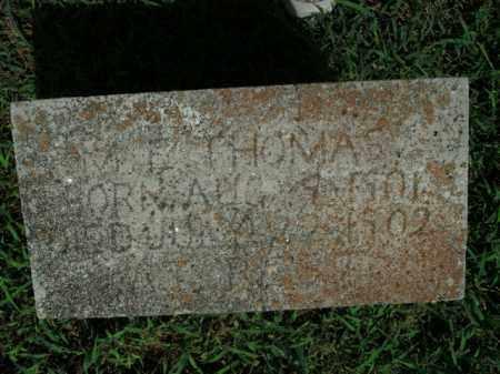 THOMAS, M.E. - Boone County, Arkansas | M.E. THOMAS - Arkansas Gravestone Photos