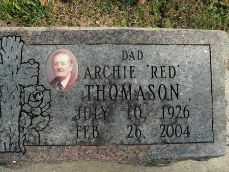 "THOMASON, ARCHIE ""RED"" - Boone County, Arkansas 