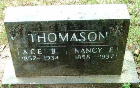 THOMASON, NANCY  E. - Boone County, Arkansas   NANCY  E. THOMASON - Arkansas Gravestone Photos