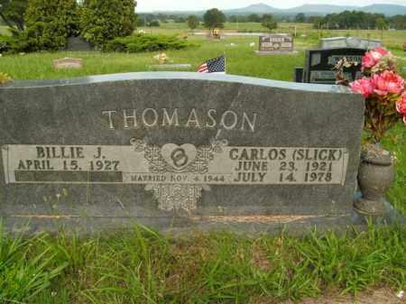 "THOMASON, CARLOS ""SLICK"" - Boone County, Arkansas | CARLOS ""SLICK"" THOMASON - Arkansas Gravestone Photos"