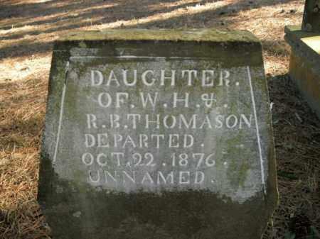 THOMASON, DAUGHTER - Boone County, Arkansas | DAUGHTER THOMASON - Arkansas Gravestone Photos