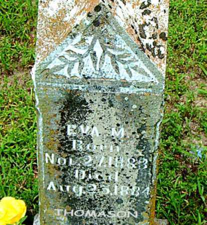 THOMASON, EVA   M. - Boone County, Arkansas | EVA   M. THOMASON - Arkansas Gravestone Photos