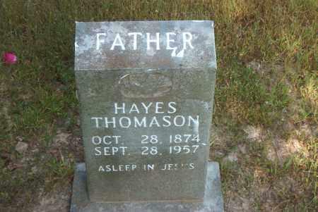 THOMASON, RUTHERFORD B. HAYES - Boone County, Arkansas | RUTHERFORD B. HAYES THOMASON - Arkansas Gravestone Photos
