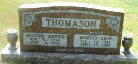 THOMASON, EMMETT OREN - Boone County, Arkansas   EMMETT OREN THOMASON - Arkansas Gravestone Photos