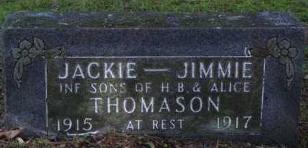 THOMASON, JIMMIE - Boone County, Arkansas | JIMMIE THOMASON - Arkansas Gravestone Photos
