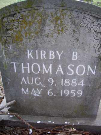 THOMASON, KIRBY B. - Boone County, Arkansas   KIRBY B. THOMASON - Arkansas Gravestone Photos