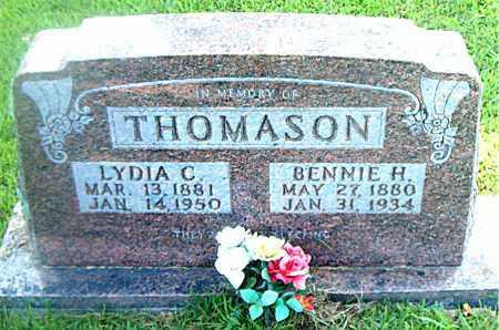 WIDNER THOMASON, LYDIA C. - Boone County, Arkansas   LYDIA C. WIDNER THOMASON - Arkansas Gravestone Photos