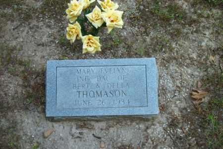 THOMASON, MARY EVELYN - Boone County, Arkansas | MARY EVELYN THOMASON - Arkansas Gravestone Photos
