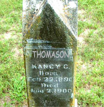 THOMASON, NANCY  C. - Boone County, Arkansas   NANCY  C. THOMASON - Arkansas Gravestone Photos