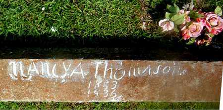 THOMASON, NANCY  ARVALINE - Boone County, Arkansas   NANCY  ARVALINE THOMASON - Arkansas Gravestone Photos