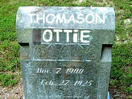 THOMASON, OTTIE - Boone County, Arkansas | OTTIE THOMASON - Arkansas Gravestone Photos