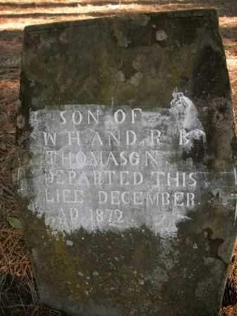 THOMASON, SON - Boone County, Arkansas   SON THOMASON - Arkansas Gravestone Photos