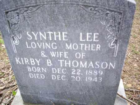THOMASON, SYNTHE LEE - Boone County, Arkansas | SYNTHE LEE THOMASON - Arkansas Gravestone Photos