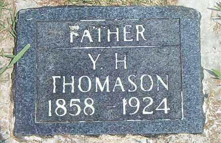 THOMASON, YOUNG HARMON - Boone County, Arkansas   YOUNG HARMON THOMASON - Arkansas Gravestone Photos