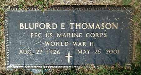 THOMPSON  (VETERAN WWII), BLUFORD E - Boone County, Arkansas | BLUFORD E THOMPSON  (VETERAN WWII) - Arkansas Gravestone Photos