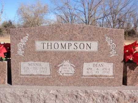 THOMPSON, DEAN - Boone County, Arkansas | DEAN THOMPSON - Arkansas Gravestone Photos