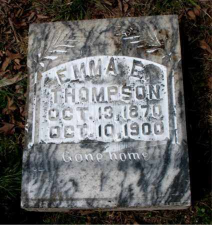 THOMPSON, EMMA E. - Boone County, Arkansas   EMMA E. THOMPSON - Arkansas Gravestone Photos