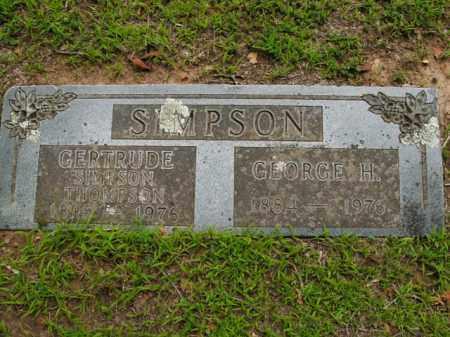 THOMPSON, GERTRUDE - Boone County, Arkansas | GERTRUDE THOMPSON - Arkansas Gravestone Photos