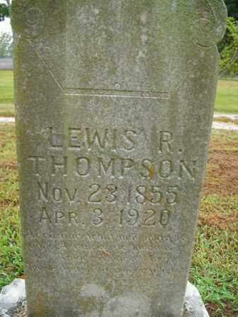 THOMPSON, LEWIS R. - Boone County, Arkansas   LEWIS R. THOMPSON - Arkansas Gravestone Photos