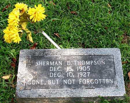 THOMPSON, SHERMAN   D - Boone County, Arkansas   SHERMAN   D THOMPSON - Arkansas Gravestone Photos