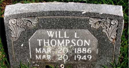 THOMPSON, WILL   L - Boone County, Arkansas | WILL   L THOMPSON - Arkansas Gravestone Photos