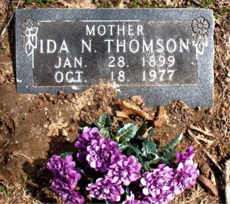 THOMSON, IDA  N. - Boone County, Arkansas | IDA  N. THOMSON - Arkansas Gravestone Photos