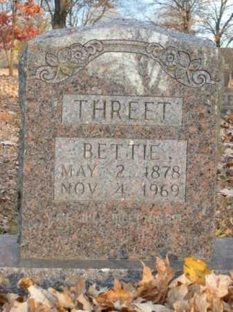 THREET, BETTIE - Boone County, Arkansas | BETTIE THREET - Arkansas Gravestone Photos