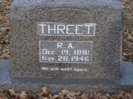 THREET, R.A. - Boone County, Arkansas | R.A. THREET - Arkansas Gravestone Photos
