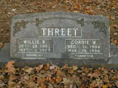 THREET, WILLIE R. - Boone County, Arkansas | WILLIE R. THREET - Arkansas Gravestone Photos