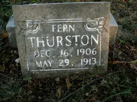 THURSTON, FERN - Boone County, Arkansas | FERN THURSTON - Arkansas Gravestone Photos