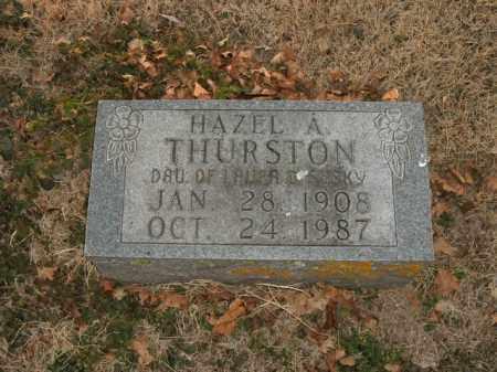 SUSKY THURSTON, HAZEL A. - Boone County, Arkansas   HAZEL A. SUSKY THURSTON - Arkansas Gravestone Photos