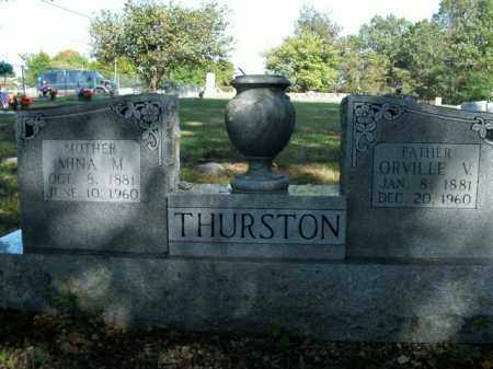 THURSTON, MINA M. - Boone County, Arkansas | MINA M. THURSTON - Arkansas Gravestone Photos