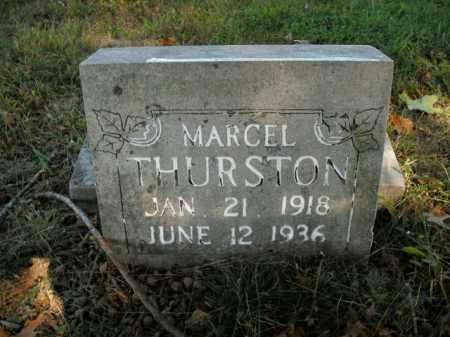 THURSTON, MARCEL - Boone County, Arkansas   MARCEL THURSTON - Arkansas Gravestone Photos