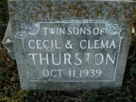 THURSTON, TWIN SONS - Boone County, Arkansas | TWIN SONS THURSTON - Arkansas Gravestone Photos