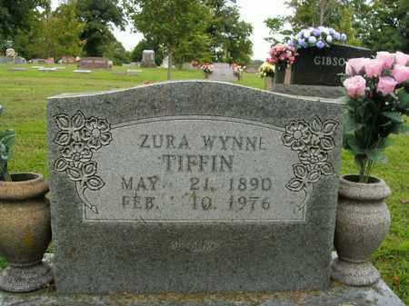 WYNNE TIFFIN, ZURA - Boone County, Arkansas | ZURA WYNNE TIFFIN - Arkansas Gravestone Photos