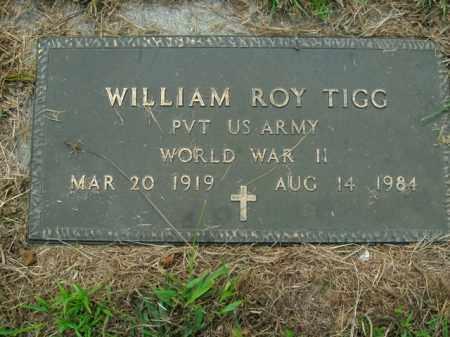TIGG  (VETERAN WWII), WILLIAM ROY - Boone County, Arkansas | WILLIAM ROY TIGG  (VETERAN WWII) - Arkansas Gravestone Photos