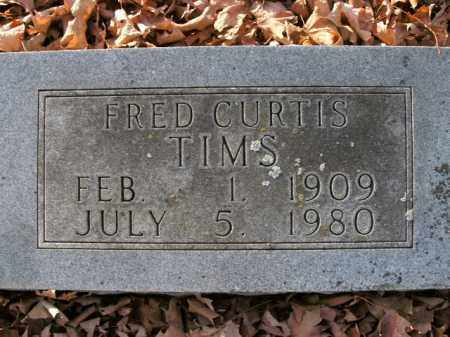 TIMS, FRED CURTIS - Boone County, Arkansas   FRED CURTIS TIMS - Arkansas Gravestone Photos