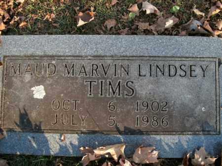 TIMS, MAUD MARVIN - Boone County, Arkansas | MAUD MARVIN TIMS - Arkansas Gravestone Photos